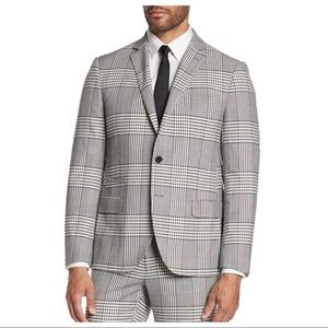 NEW Savile Row Camden Gray Glenplaid Suit Jacket
